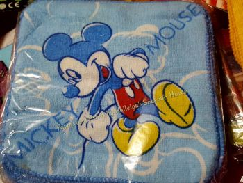 FACE TOWEL (12s): MICKEY MOUSE