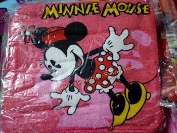 FACE TOWEL (12s): MINNIE MOUSE