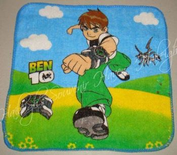 FACE TOWEL (12s): BEN10