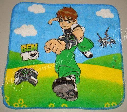 FACE TOWEL: BEN10