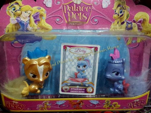 CAKE TOPPER TOY SET - PALACE PETS (2s)