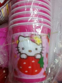 TUMBLER (HOLOGRAM, 12s): HELLO KITTY
