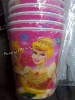 TUMBLER (HOLOGRAM, 12s): Disney Princess