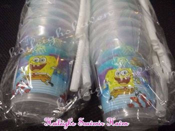 TUMBLER PACK (TRANSPARENT): SPONGEBOB