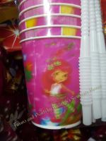 TUMBLER (HOLOGRAM, 12s): Strawberry Shortcake