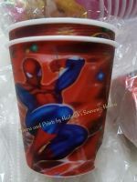 TUMBLER (HOLOGRAM): SPIDERMAN