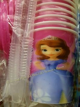 TUMBLER (HOLOGRAM, 12s): SOFIA THE FIRST