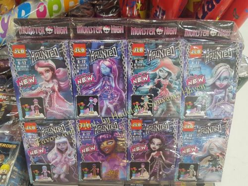 MINI FIGURE SET (8s): MONSTER HIGH