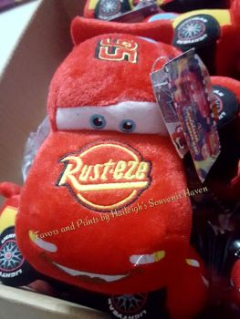 STUFFED TOY: DISNEY CARS - MCQUEEN (SMALL) - Design 2