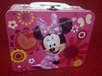 LUNCH BOX (TIN): MINNIE MOUSE