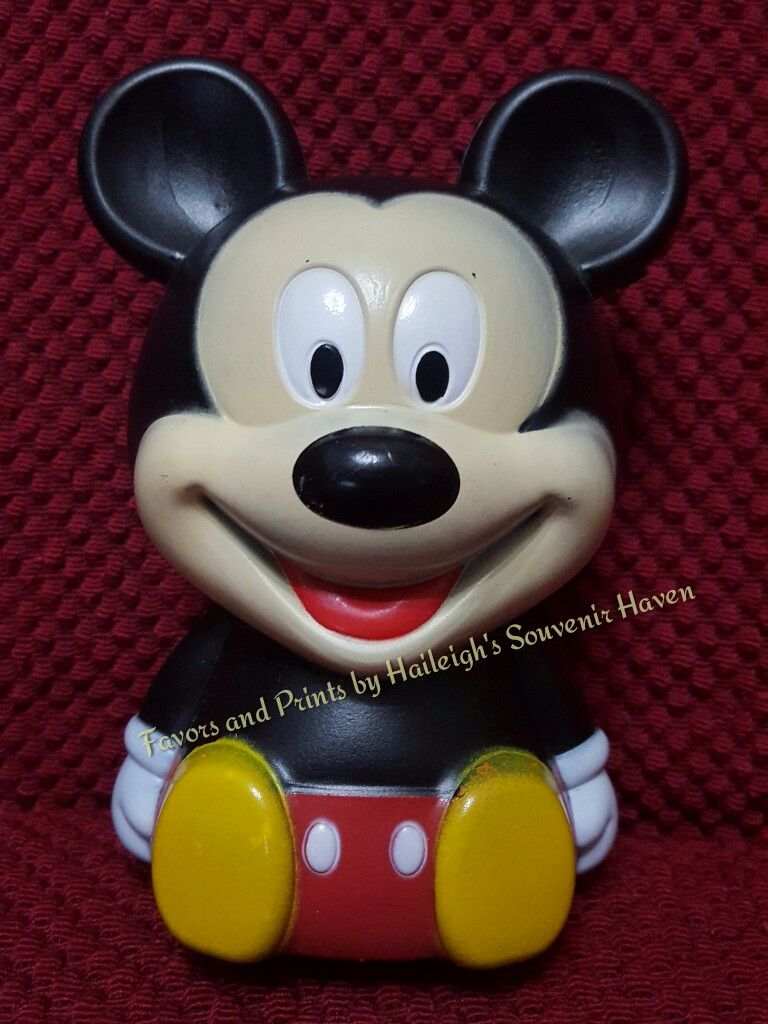 COIN BANK (HARD PLASTIC, DESIGN 2): MICKEY MOUSE