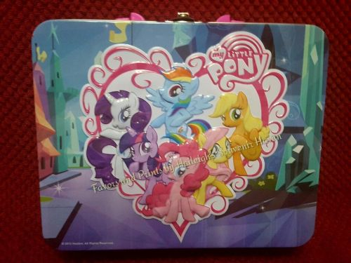 LUNCH BOX (TIN): LITTLE PONY