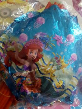 BALLOON (MINI-FOIL, 20s): LITTLE MERMAID