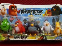 CAKE TOPPER TOY SET - ANGRY BIRDS