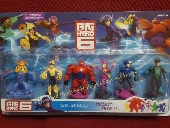 CAKE TOPPER TOY SET - BIG HERO 6