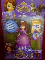 SOFIA THE FIRST MAGICLIP TOY SET
