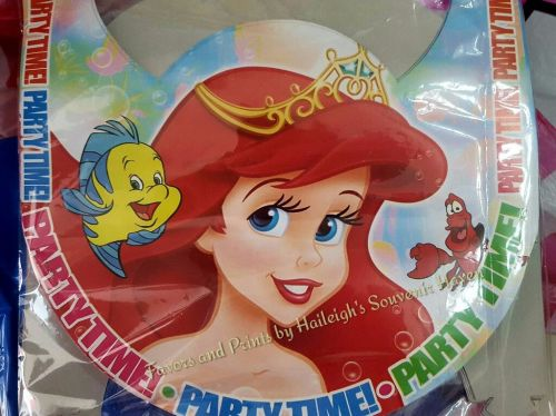 PARTY HATS (Regular, 12s): LITTLE MERMAID