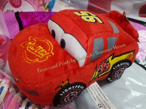 Disney Cars Stuffed Toy (McQueen, SMALL) - Design 1