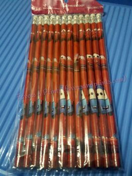 PACK OF PENCILS [12S]: DISNEY CARS