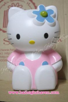 COIN BANK (HARD PLASTIC): HELLO KITTY