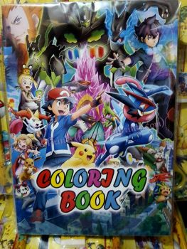 COLORING BOOK (SMALL, 12s): POKEMON