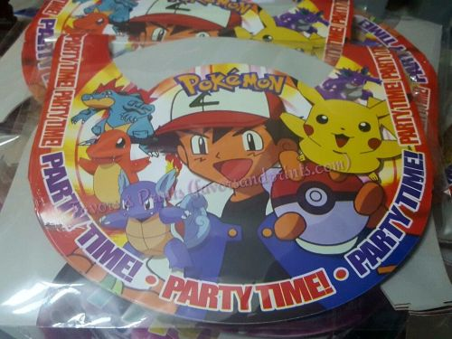 PARTY HATS (Regular, 10s): POKEMON