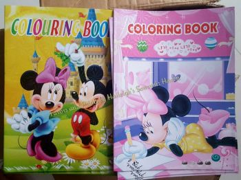 COLORING BOOK (SMALL, 12s): MICKEY AND FRIENDS