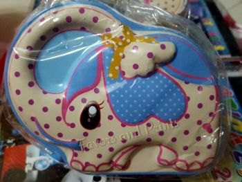 COIN BANK (TIN):  CUTE DESIGNS #1