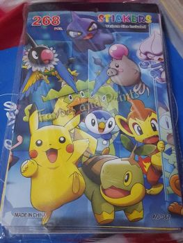 STICKER BOOK (12s): POKEMON