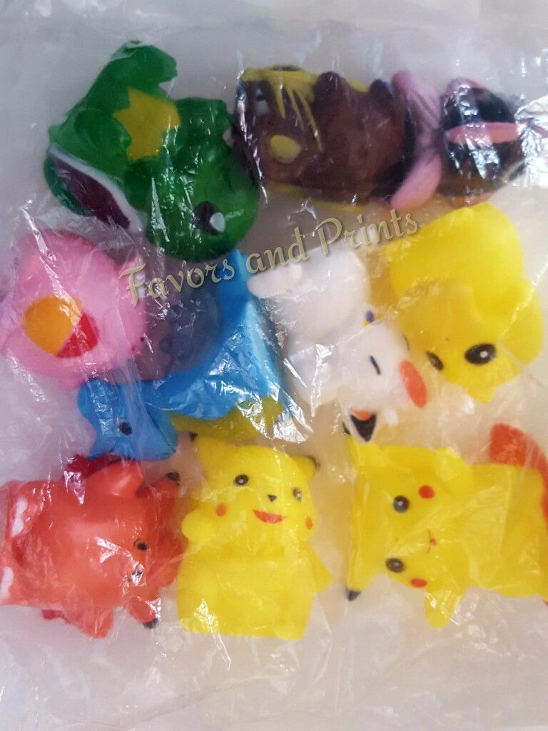 PENCIL TOPPER SET: POKEMON (10s)