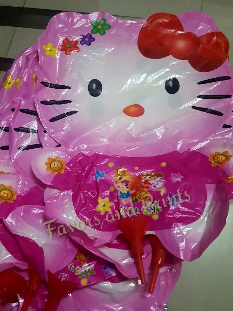 BALLOON (DIE-CUT, 20s): HELLO KITTY