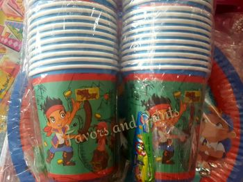 PAPER CUPS [10s]: JAKE AND THE NEVERLAND PIRATES