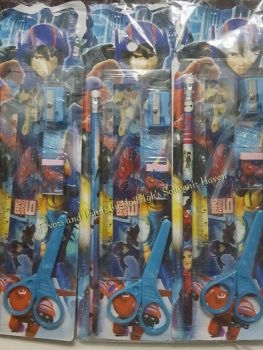 PENCIL SET (12s): BIG HERO 6