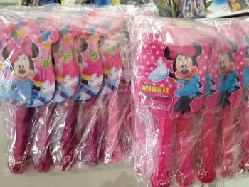 FOLDING FAN (12s): MINNIE MOUSE