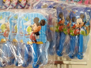 FOLDING FAN (12s): MICKEY MOUSE