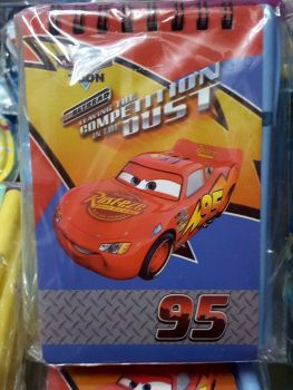 MINI-NOTEBOOK W/ PEN: DISNEY CARS