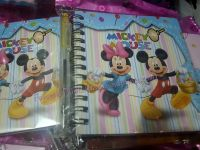 MINI-NOTEBOOK WITH PEN: MICKEY AND FRIENDS