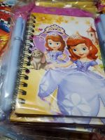 MINI-NOTEBOOK WITH PEN: SOFIA THE FIRST