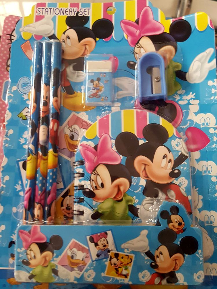 STATIONERY SET (DESIGN 2): MICKEY MOUSE