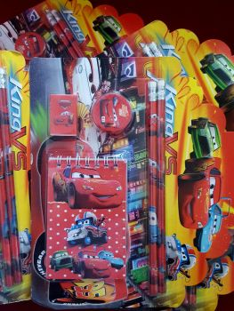 STATIONERY SET (DESIGN 2): DISNEY CARS