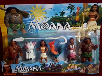 CAKE TOPPER TOY SET - MOANA