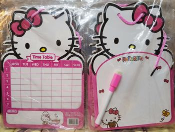 MINI-WHITEBOARD (12s): HELLO KITTY