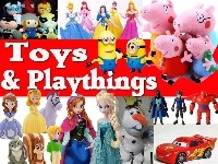 TOYS AND PLAYTHINGS