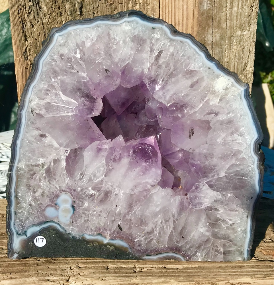 Amethyst crystal cave - Truly magical display piece