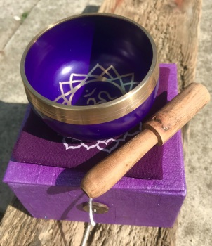 Singing bowl - Purple crown chakra