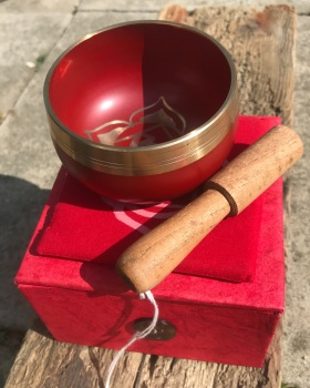 Singing bowl - Red root chakra
