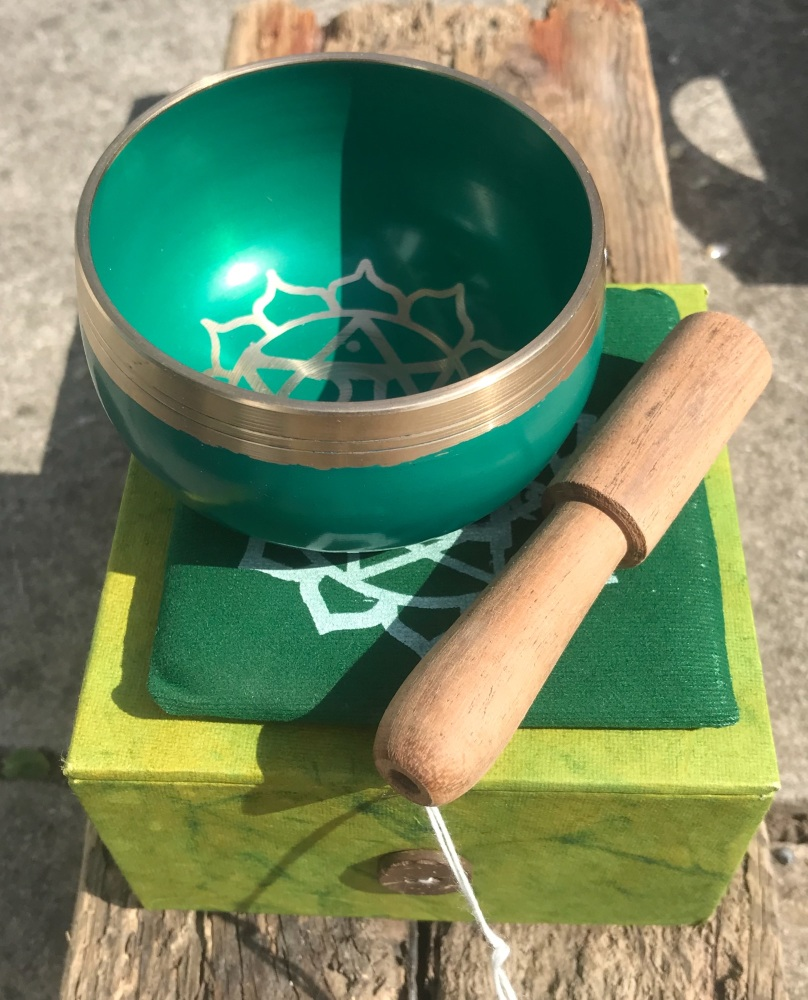 Singing bowl - Green heart chakra
