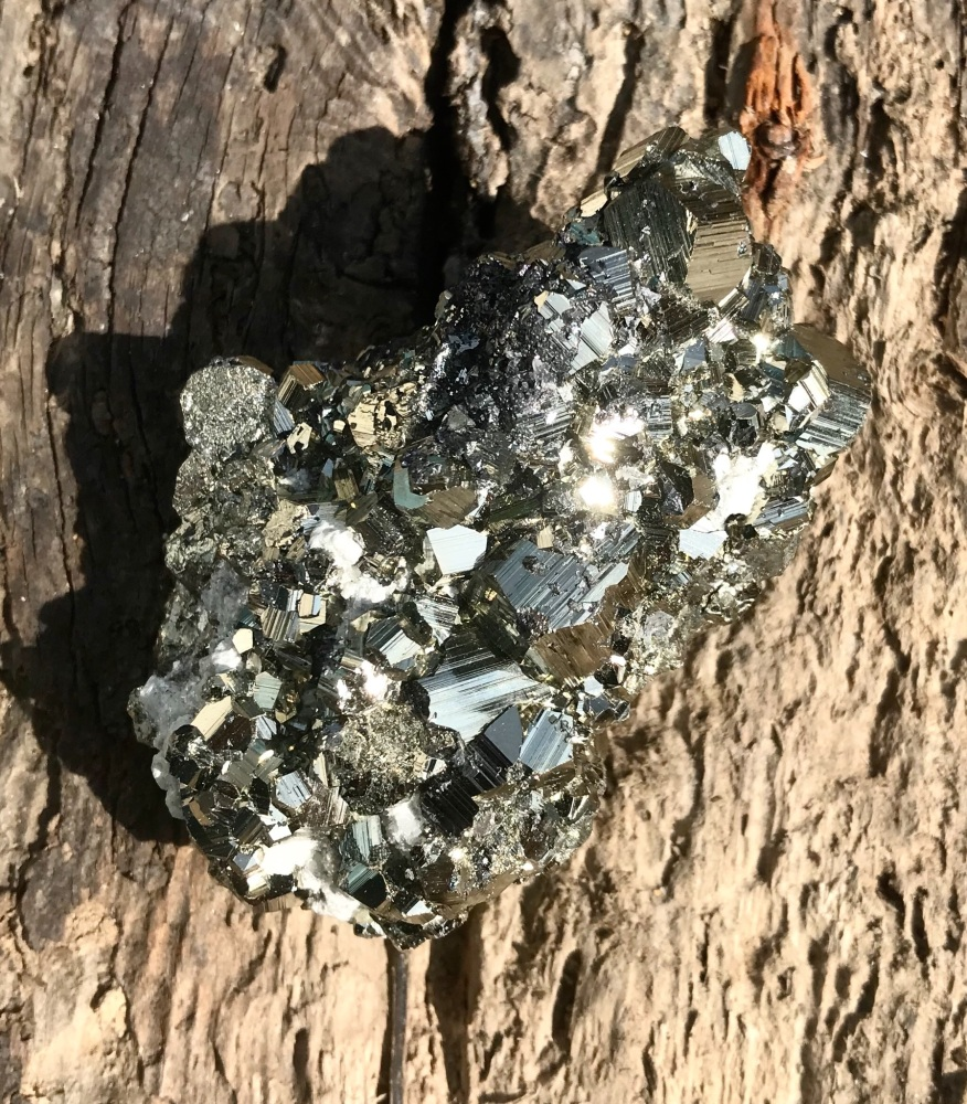 Pyrite piece - Grounding and protective