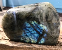 Labradorite crystal display item