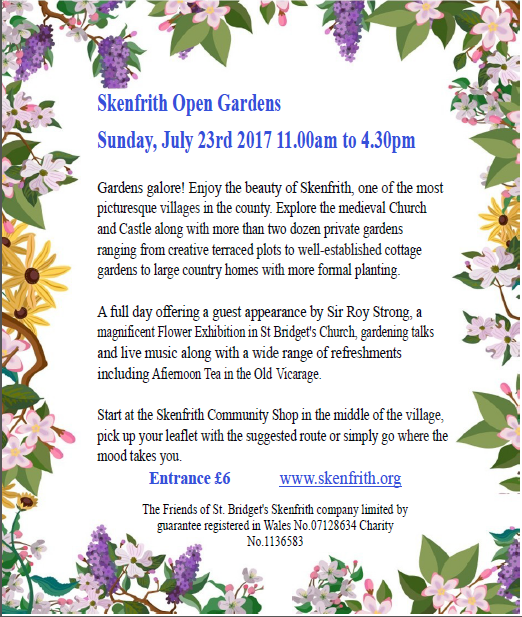 open gardens poster
